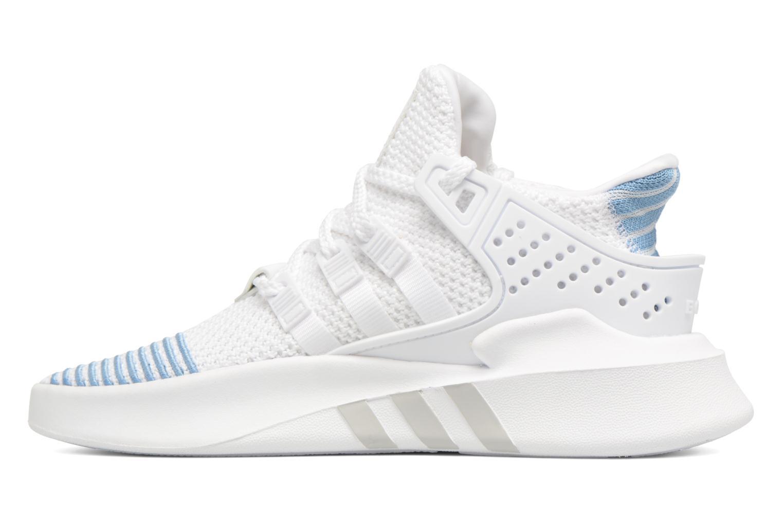 Baskets Adidas Originals Eqt Bask Adv W Blanc vue face