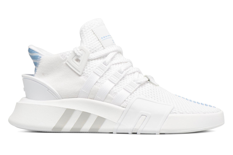 Baskets Adidas Originals Eqt Bask Adv W Blanc vue derrière