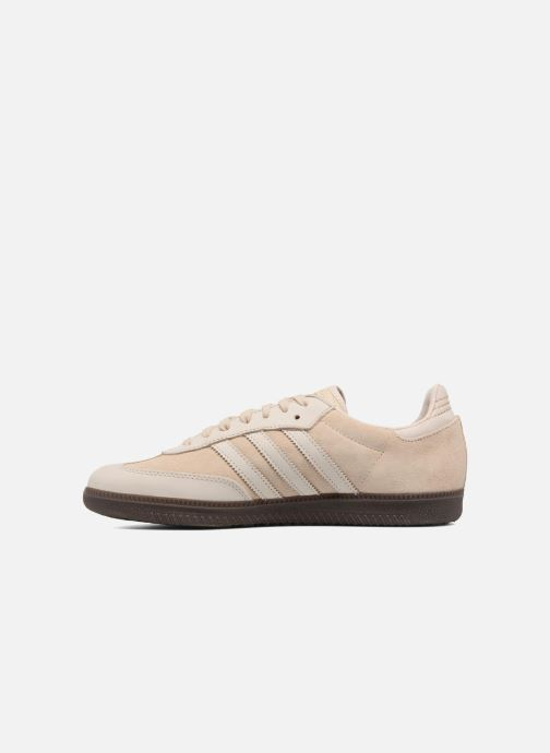 Trainers adidas originals Samba Fb Beige front view