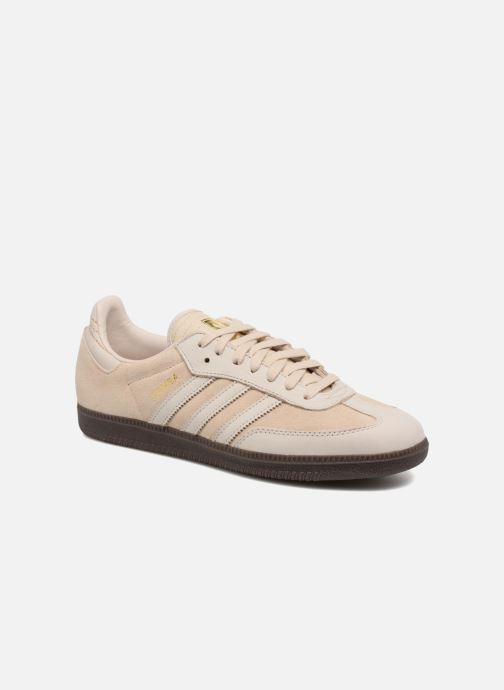 Trainers adidas originals Samba Fb Beige detailed view/ Pair view