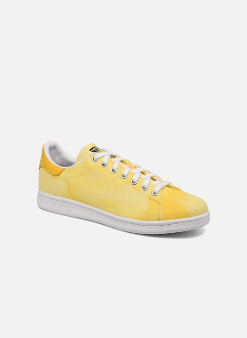 online store 5b38c 8ab45 Trainers Adidas Originals Pharrell Williams Hu Holi Stan Smith Yellow detailed  view Pair view