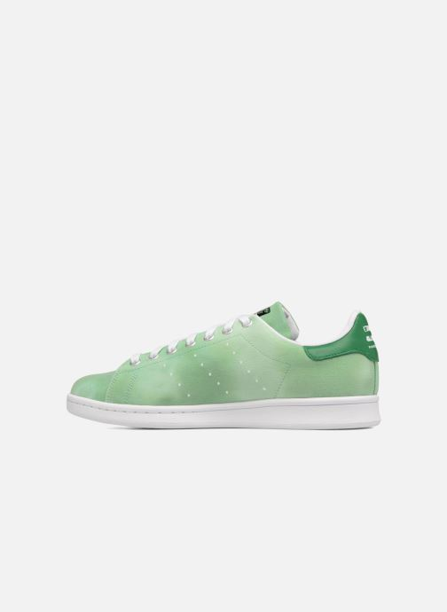Sneakers adidas originals Pharrell Williams Hu Holi Stan Smith Verde immagine frontale
