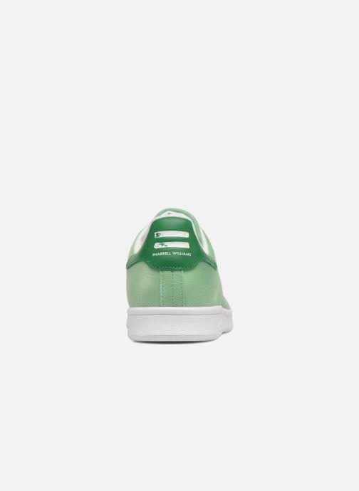 Sneakers adidas originals Pharrell Williams Hu Holi Stan Smith Verde immagine destra