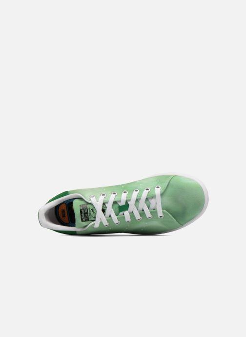 Sneakers adidas originals Pharrell Williams Hu Holi Stan Smith Verde immagine sinistra