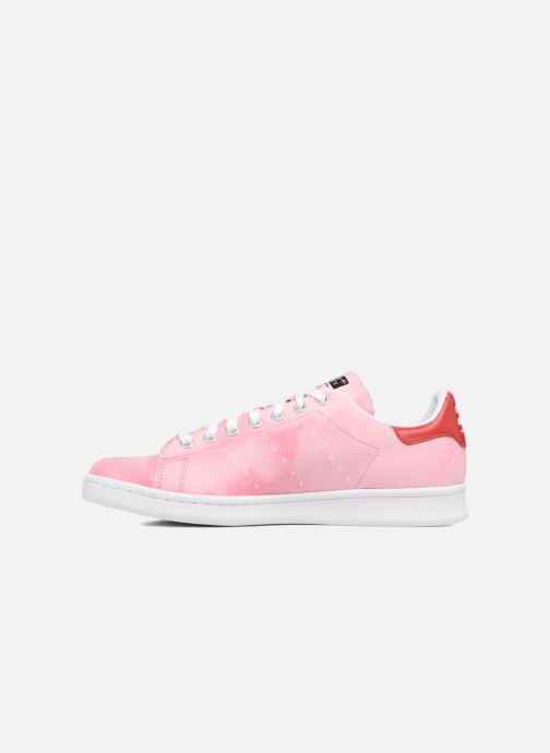Sneakers adidas originals Pharrell Williams Hu Holi Stan Smith Roze voorkant