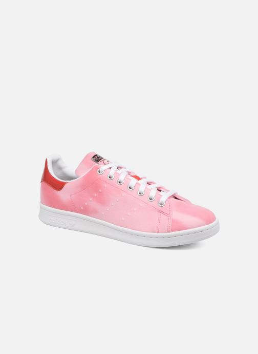 8027c378d58f5 Trainers adidas originals Pharrell Williams Hu Holi Stan Smith Pink  detailed view  Pair view