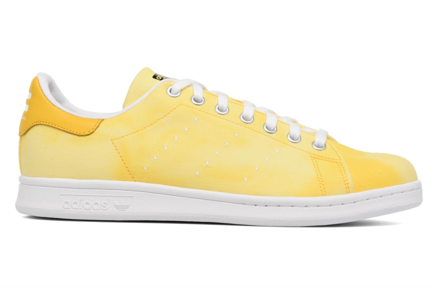 Sneakers Adidas Originals Pharrell Williams Hu Holi Stan Smith Geel achterkant
