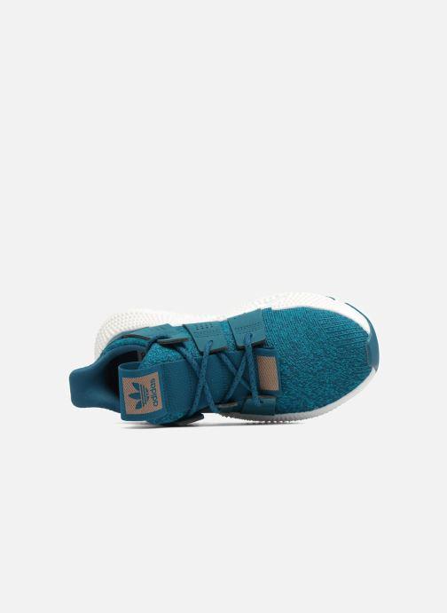Baskets adidas originals Prophere W Bleu vue gauche