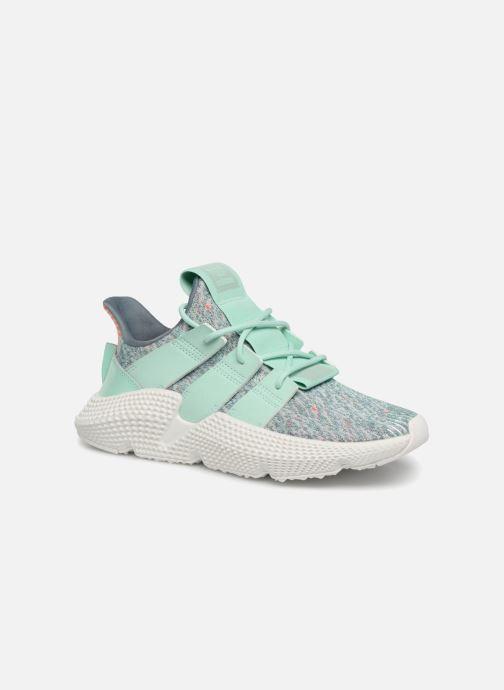 Sneakers adidas originals Prophere W Blå detaljeret billede af skoene