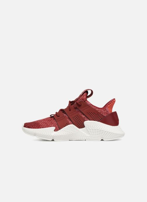 Baskets adidas originals Prophere W Bordeaux vue face