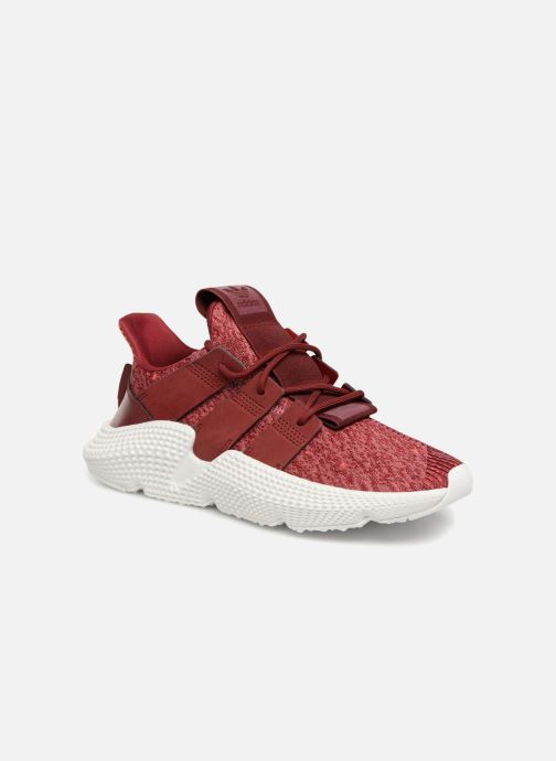 Baskets adidas originals Prophere W Bordeaux vue détail/paire