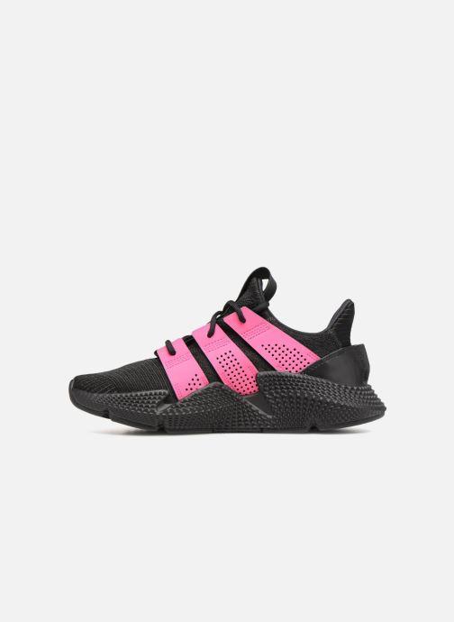 Sneaker adidas originals Prophere W schwarz ansicht von vorne