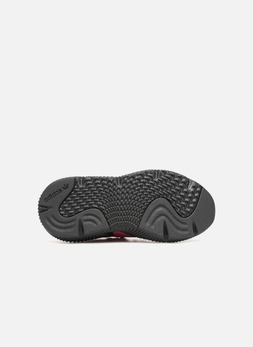 Sneaker adidas originals Prophere W schwarz ansicht von oben