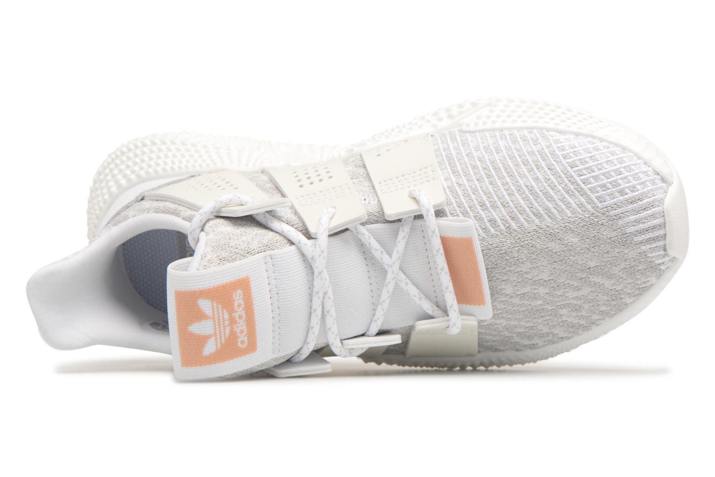 Baskets Adidas Originals Prophere W Blanc vue gauche