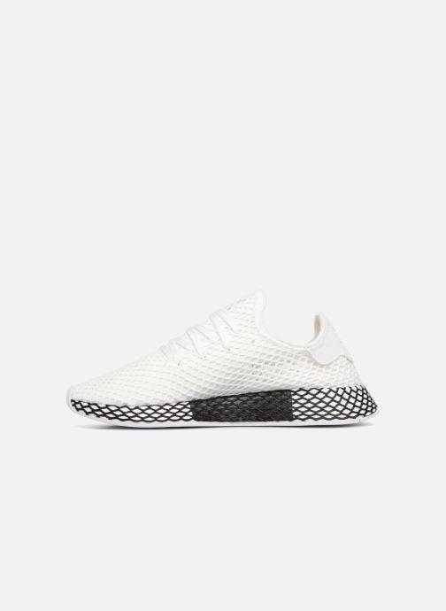Sneaker adidas originals Deerupt Runner weiß ansicht von vorne