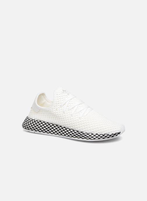 Sneaker Adidas Originals Deerupt Runner weiß detaillierte ansicht/modell
