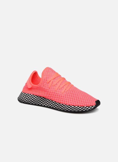 best sneakers 645ac f6d47 Baskets adidas originals Deerupt Runner Rose vue détail paire
