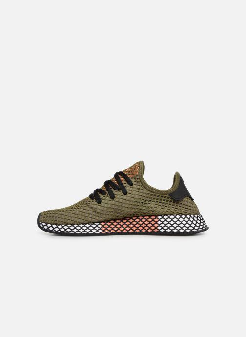 Sneaker adidas originals Deerupt Runner grün ansicht von vorne