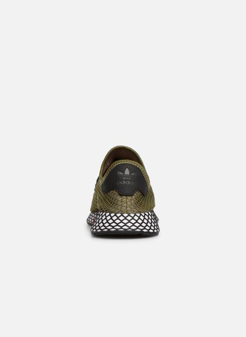 Sneaker adidas originals Deerupt Runner grün ansicht von rechts