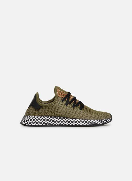 Sneaker adidas originals Deerupt Runner grün ansicht von hinten