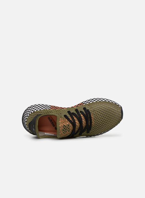 Sneaker adidas originals Deerupt Runner grün ansicht von links