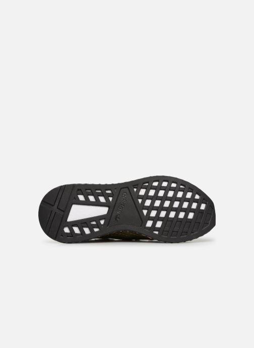 Baskets adidas originals Deerupt Runner Vert vue haut