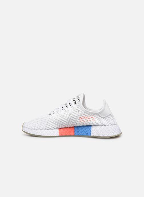 Sneakers adidas originals Deerupt Runner Hvid se forfra