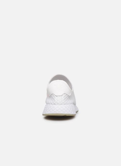 Sneakers adidas originals Deerupt Runner Wit rechts
