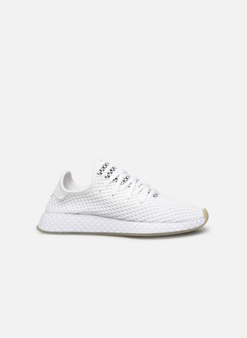 Sneaker adidas originals Deerupt Runner weiß ansicht von hinten