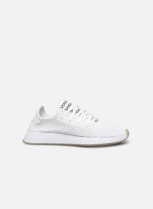 Sneakers adidas originals Deerupt Runner Wit achterkant