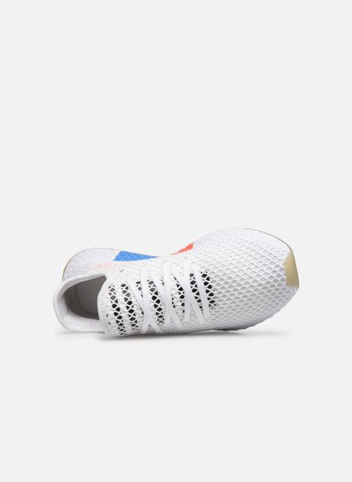 Deportivas adidas originals Deerupt Runner Blanco vista lateral izquierda