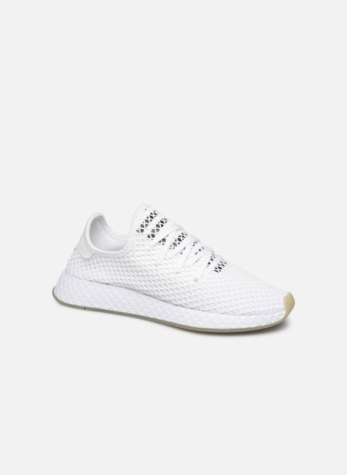 Sneakers adidas originals Deerupt Runner Hvid detaljeret billede af skoene