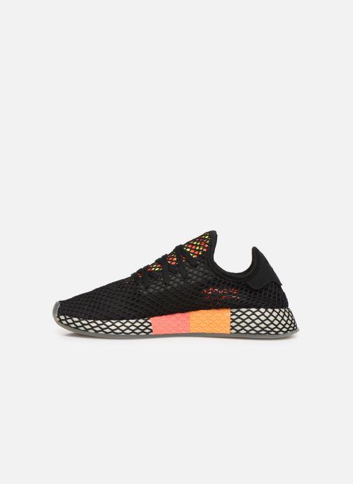 Sneakers adidas originals Deerupt Runner Zwart voorkant