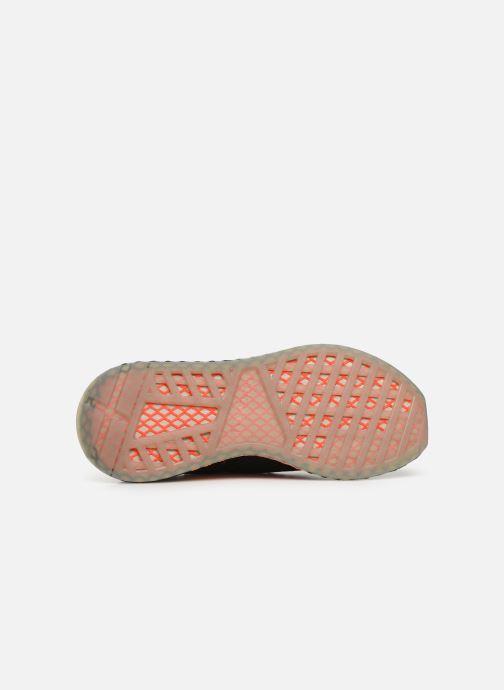 Sneakers adidas originals Deerupt Runner Zwart boven