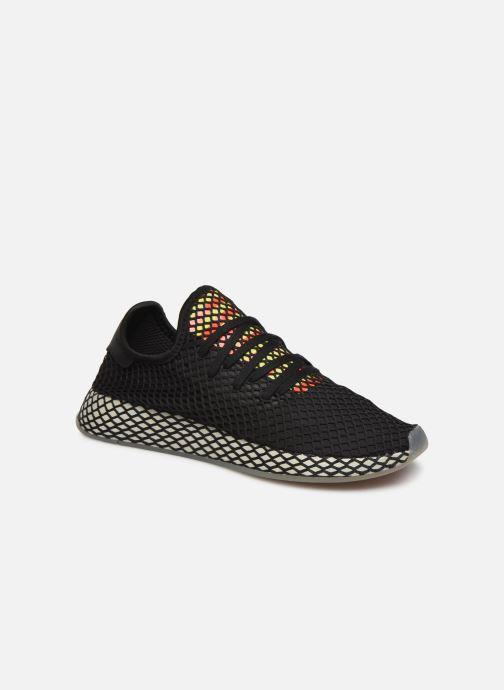 Sneakers adidas originals Deerupt Runner Sort detaljeret billede af skoene