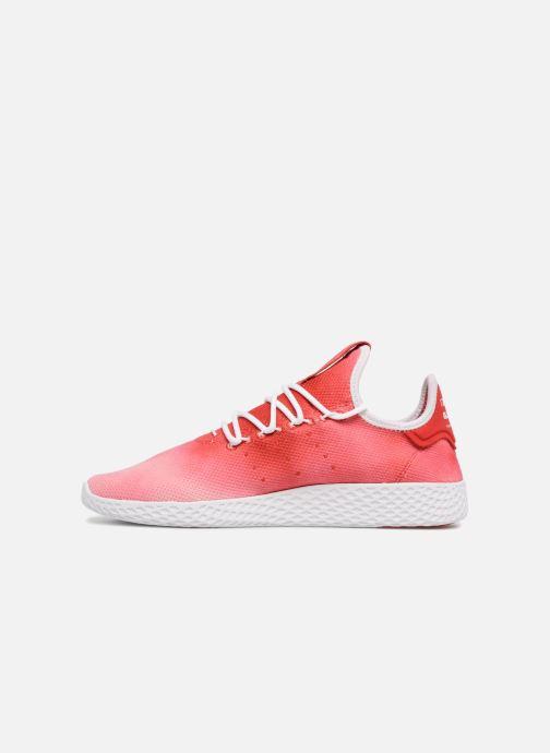 Sneaker Adidas Originals Pharrell Williams Hu Holi Tennis Hu rot ansicht von vorne