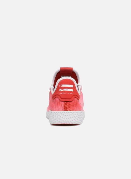 Sneaker adidas originals Pharrell Williams Hu Holi Tennis Hu rot ansicht von rechts