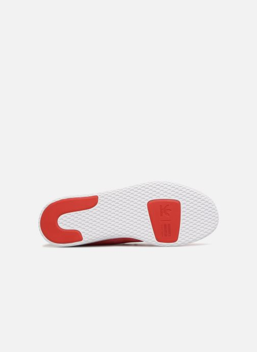 Sneaker adidas originals Pharrell Williams Hu Holi Tennis Hu rot ansicht von oben