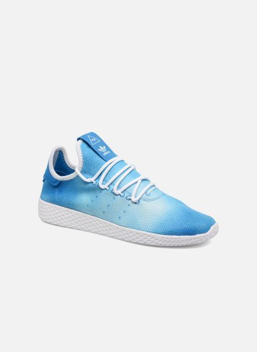 32c4f08e73962 Baskets adidas originals Pharrell Williams Hu Holi Tennis Hu Bleu vue détail  paire