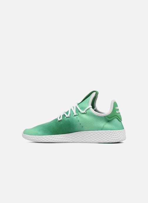 0966b65723a94 Baskets adidas originals Pharrell Williams Hu Holi Tennis Hu Vert vue face