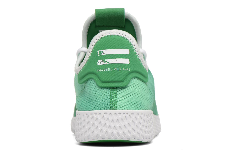 Sneakers Adidas Originals Pharrell Williams Hu Holi Tennis Hu Verde immagine destra