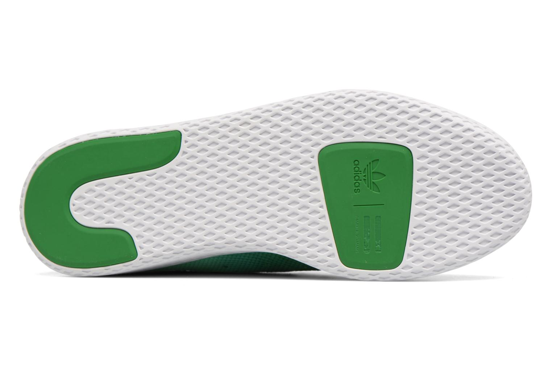 Sneakers Adidas Originals Pharrell Williams Hu Holi Tennis Hu Verde immagine dall'alto