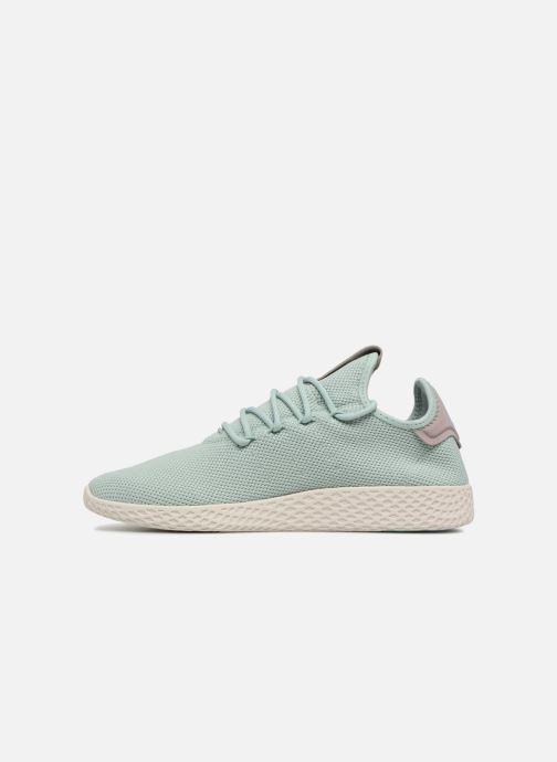 Sneaker Adidas Originals Pharrel Williams TennisHu W blau ansicht von vorne