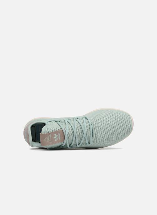 Sneaker Adidas Originals Pharrel Williams TennisHu W blau ansicht von links