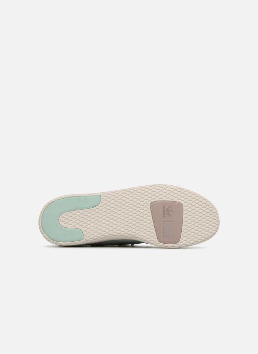 Sneaker Adidas Originals Pharrel Williams TennisHu W blau ansicht von oben