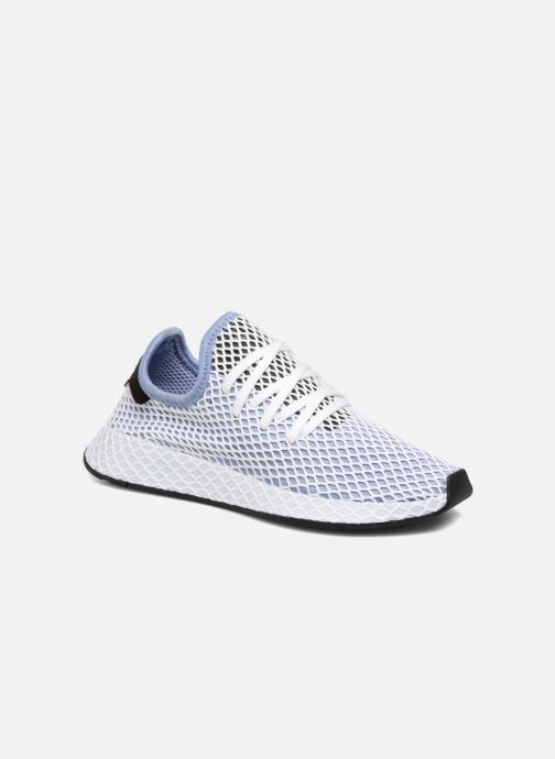 pretty nice ccef5 f0bb4 Baskets adidas originals Deerupt Runner W Bleu vue détailpaire