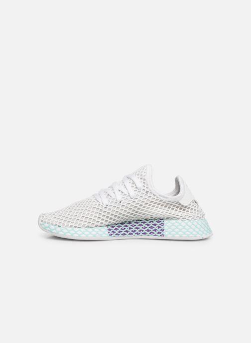 Sneakers adidas originals Deerupt Runner W Hvid se forfra