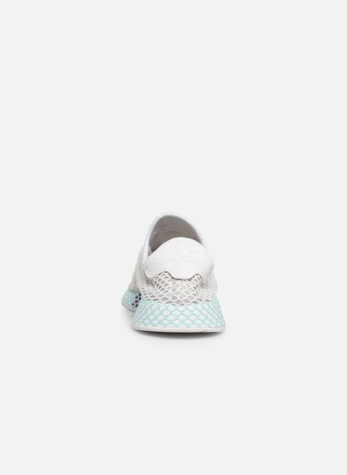 Sneakers adidas originals Deerupt Runner W Hvid Se fra højre