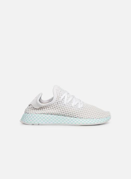 Sneakers adidas originals Deerupt Runner W Hvid se bagfra
