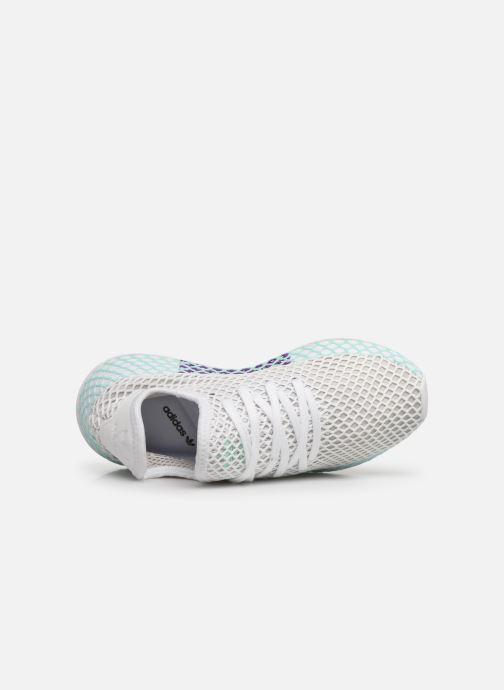 Sneakers adidas originals Deerupt Runner W Hvid se fra venstre